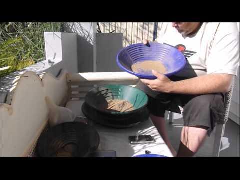 Turbodirt gold panning
