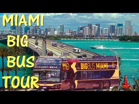 Miami Big Bus Tour - Miami 4K