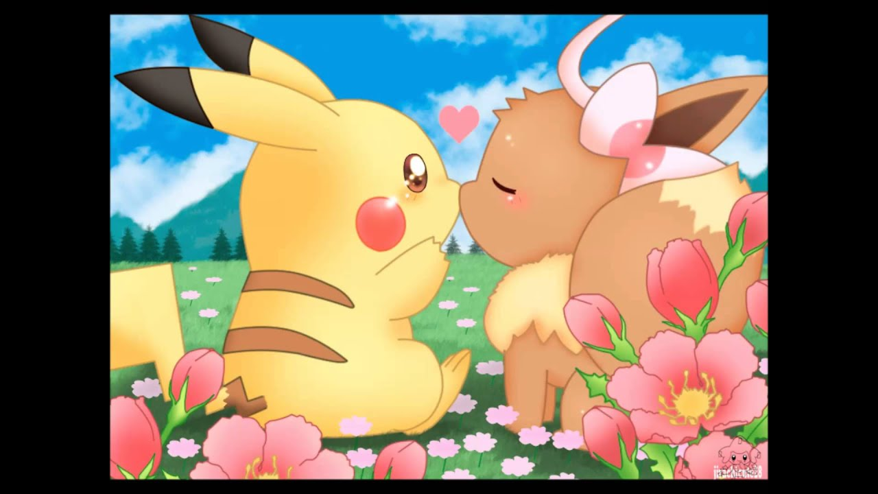 Cute Pikachu And Eevee Evolution Tribute Youtube