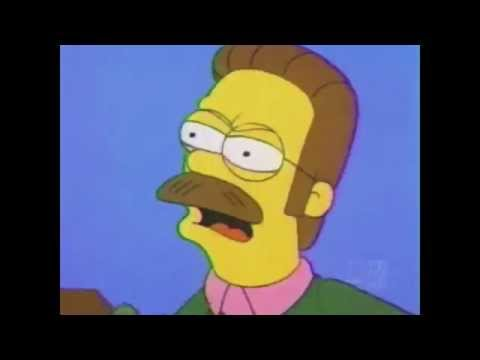 Ned Flanders, Calm down diddly