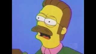 Ned Flanders, Calm down diddly thumbnail