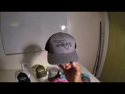 Trucker Style Fishing Hats