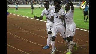 GHANA VS SOUTH AFRICA 2 - 0