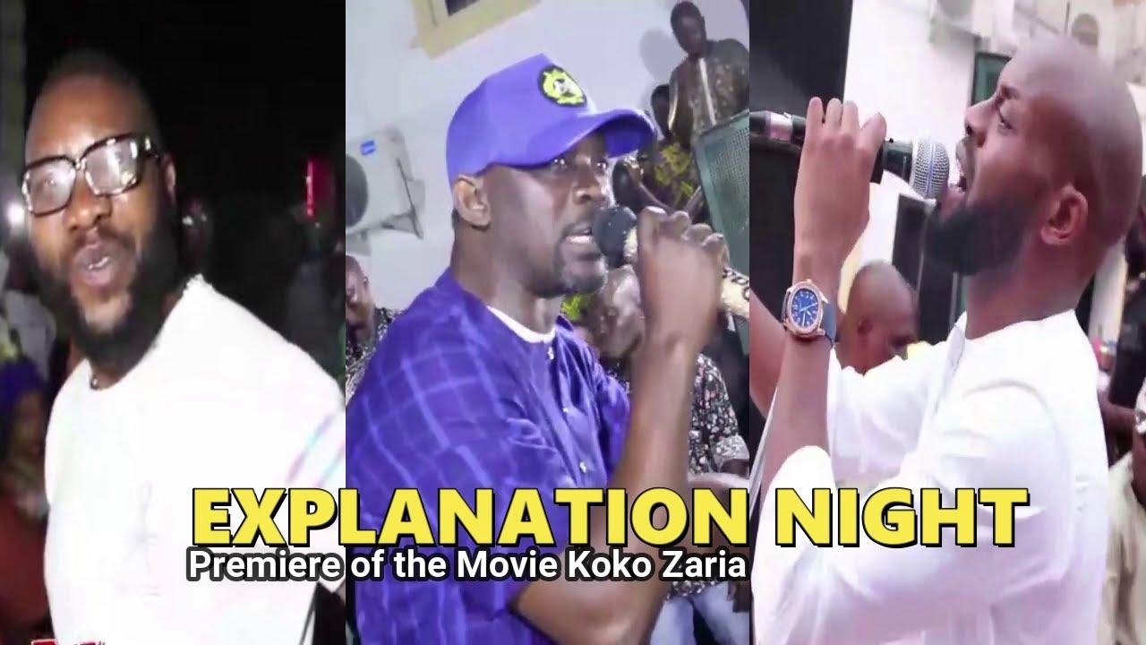 Download Explanation Night   Atawewe, Pasuma Drop A Bombshell At The Premiere Of Koko Zaria Yoruba Movie