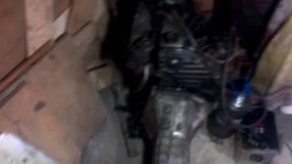 Двигатель дизельный NISSAN CD20 и КПП ВАЗ 2107  5 ступка