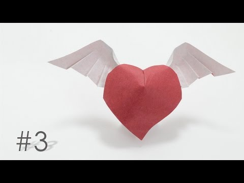 Origami heart with wings-Hoàng Tiến Quyết