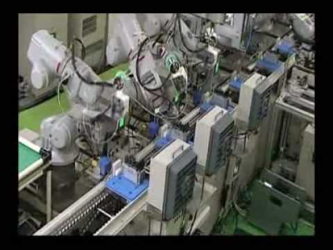 Motoman Robots Performing Electronic Component Assembly