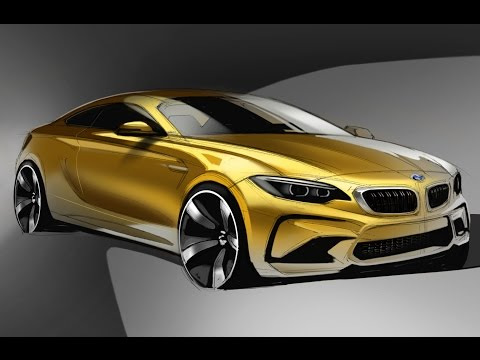 Car Design Sketch & Drawing - BMW M2 Coupe