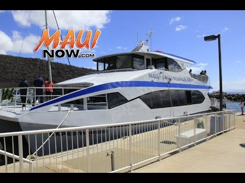First Day of Service for New Expedition Six Lānaʻi Ferry