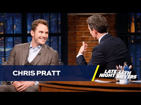 Chris Pratt Rides a Horse Like a Jet Ski