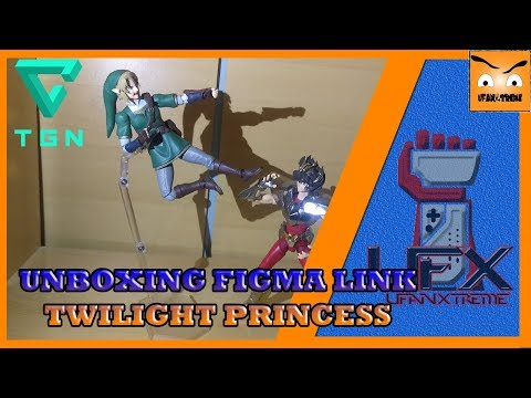 UNBOXING Figma Link The Legend of Zelda Twilight Princess