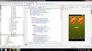 Develop simple War Card Game in Android Studio