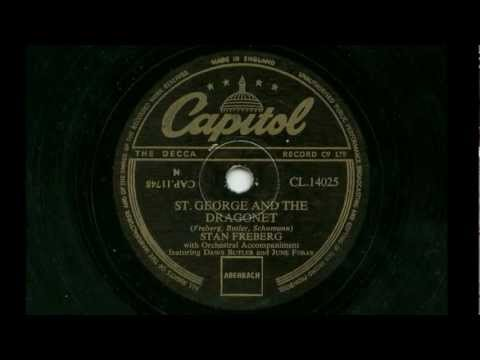 Stan Freberg 'St George And The Dragonet' 78 rpm