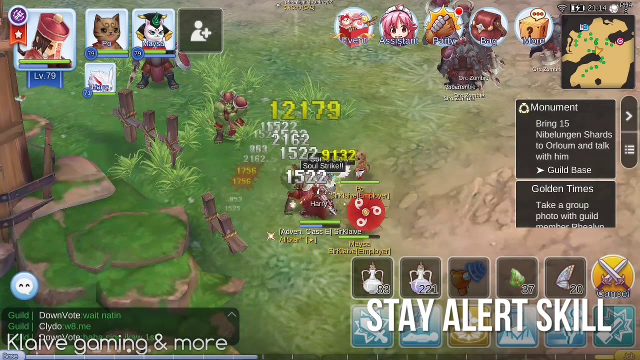 Stay Alert Skill (Farm without Moving a Spot) - Ragnarok Mobile Eternal Love