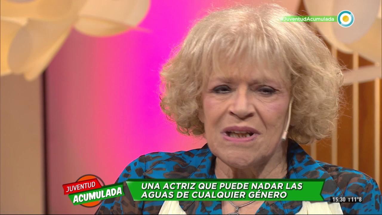 María Rosa Fugazot En Juventud Acumulada 1 De 2 Youtube