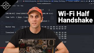HakByte: Capture Wi-Fi Passwords From Smartphones with a Half-Handshake Attack