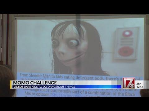 Momo challenge getting popular again