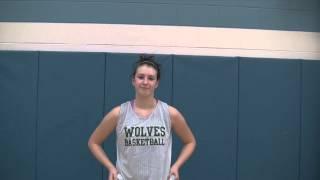 Christina Myers Sugery Tribute HAC Girls Basketball