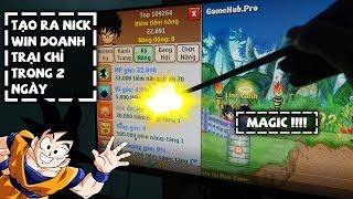 Ngọc Rồng Online - Quân Đã Tạo Ra Nick Win Doanh Trại Trong 2 Ngày Như Thế Nào ?