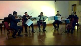 W.A. Mozart Quintetto K581 Sabato Morretta Clarinet and Ars Mousika Quartet