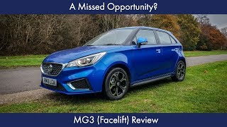 A Missed Opportunity? MG3 Review