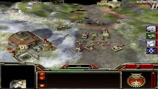 Command and Conquer: Generals China Campaign Mission 7 - Nuclear Winter [HD]