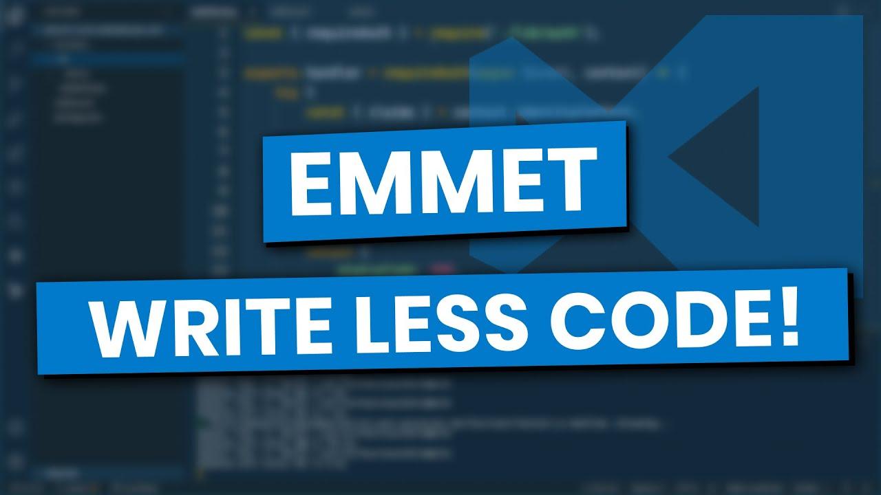 Emmet HTML Snippets in Visual Studio Code