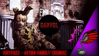 [FNAF Song] KryFuZe - Afton Family (Remix by Danvol)