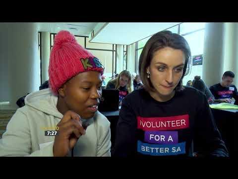 MySchool MyVillage MyPlanet Mandela Day Volunteer Event
