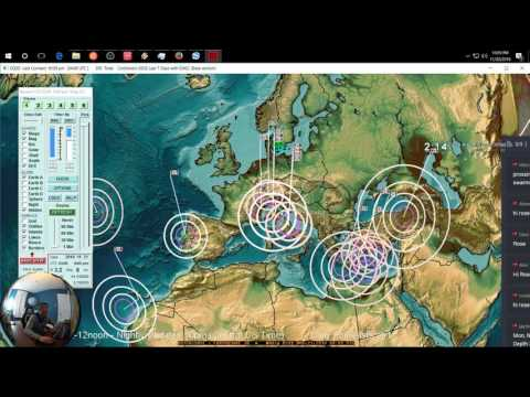 11/20/2016 -- Large earthquake in S. America , Japan struck , New Swarm hits NW Italy as expected