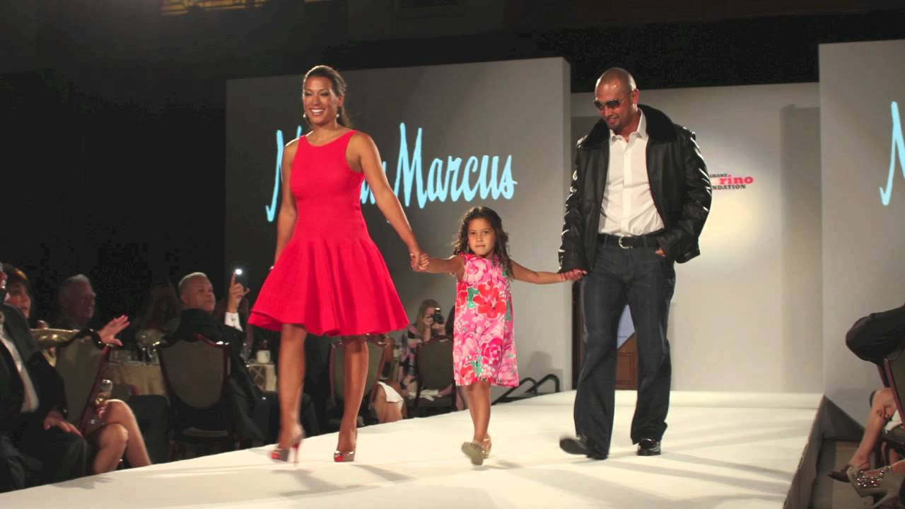 Shane victorino foundation all star celebrity fashion show