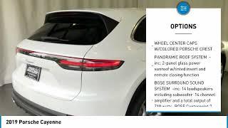 2019 Porsche Cayenne 2190353