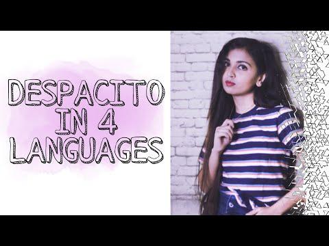    DESPACITO IN 4 LANGUAGES    BENGALI/HINDI/SPANISH/ENGLISH    ARJAMA B  
