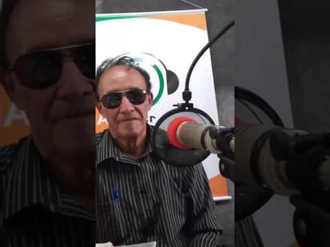 """Poeta Tião Lima Apresentando O Programa """"Matutos Na Cidade"""" Na Radio Cidade Esperança"""