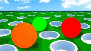 КАКАЯ ИЗ 1000 ЛУНОК ВЕДЕТ К ФИНИШУ? ПОПАЛИ С ПЕРВОГО РАЗА В САМУЮ СЛОЖНУЮ ЛУНКУ В ГОЛЬФ ИТ (Golf It)