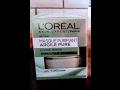 Double crash test masque l'Oréal et Peeling nuit de Lancôme