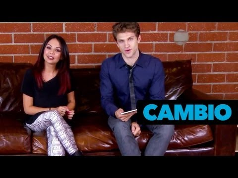 PLL Couch Sesh With Keegan Allen and Janel Parrish | Cambio