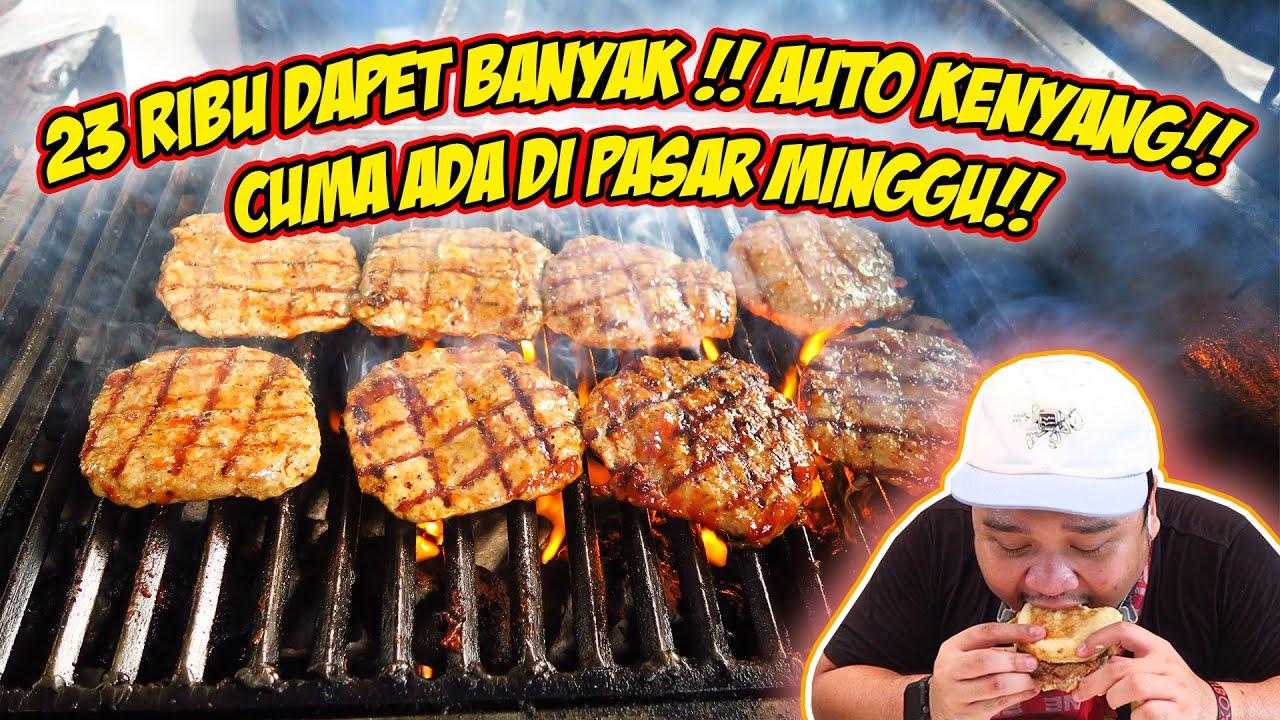 DATENG CANTIK PULANG BAU ASEP!! CUMA ADA DI PASAR MINGGU!!