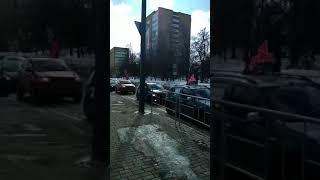 Обманутых дольщиков  #ЖКВысокиеЖаворонки задержали  - за прогулку!