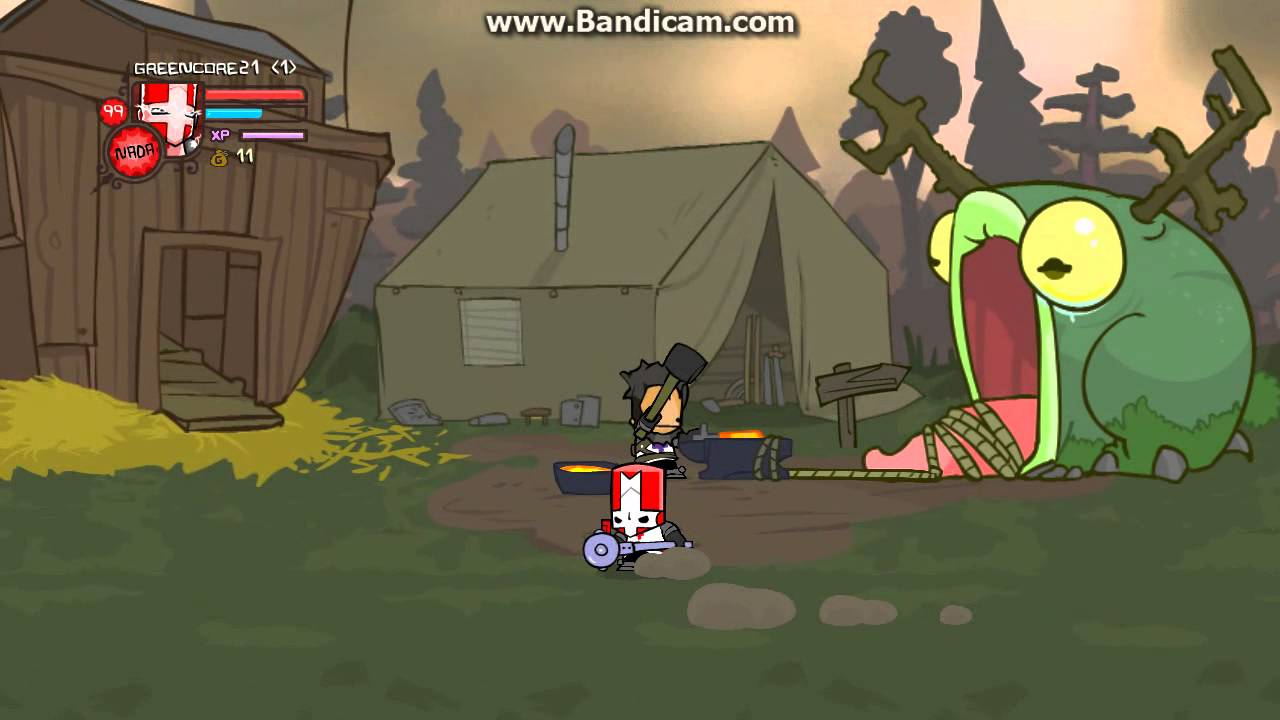 castle crashers red knight magic youtube