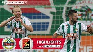 Highlights: tipico Bundesliga, 12. Runde: SK Rapid Wien - FC Flyeralarm Admira 2:0