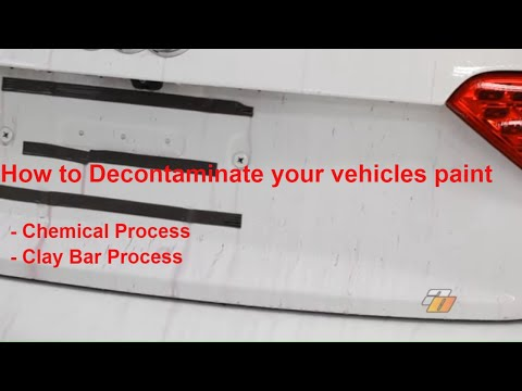 How to Decontaminate your vehicle, to prepare your car for waxes, sealants or coatings-AutoObsessed™