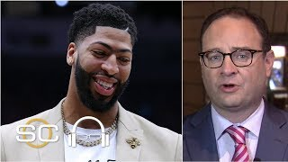 Pelicans will ask Anthony Davis to give them 'a chance' with Zion - Adrian Wojnarowski | SC with SVP