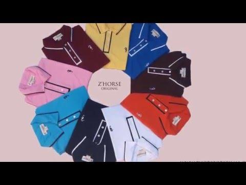 เสื้อโปโล  ราคาถูก สินค้าส่งออก เสื้อ POLO แบรนด์ Zhorse Original เสื้อม้าน้ำ