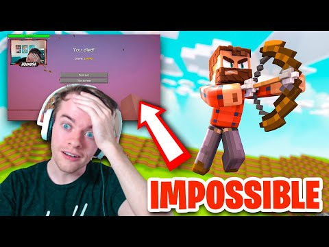 I did the IMPOSSIBLE in Minecraft