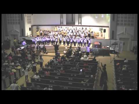 BIRMINGHAM DANCE performs with a live orchestra and choir from the song entitled, Anthem of Praise