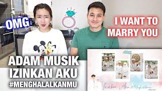 Download lagu FOREIGNER REACTS ADAM MUSIK IZINKAN AKU #MENGHALALKANMU   I Want To Marry You