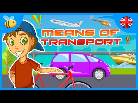 Means of Transport: Do You Know Them All? | Educational Videos for Kids