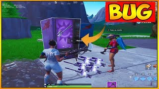 HOW TO DUPLICATE WEAPONS IN THE VENDING MACHINES BY discovering GLitches FORTNITE #17