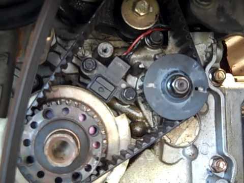 Hyundai Crankshaft Position Sensor Replace Timing Belt Replace 24